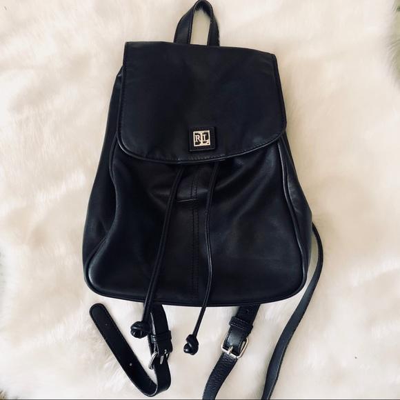 Lauren Ralph Lauren Handbags - Ralph Lauren Mini Backpack 836d95cad93fc